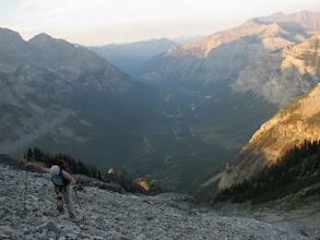 Photo: Alpine start.