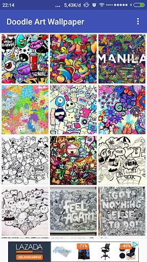 Doodle Art Wallpaper for PC