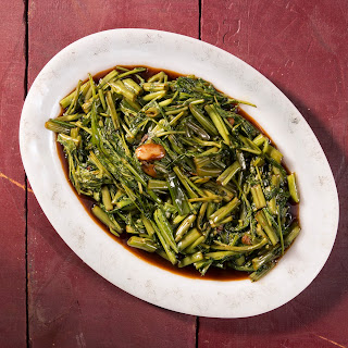 Philippine Vinegar-Braised Greens (Kangkong Adobo)