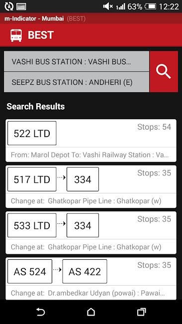 #6. Mumbai Local Train Timetable (Android)