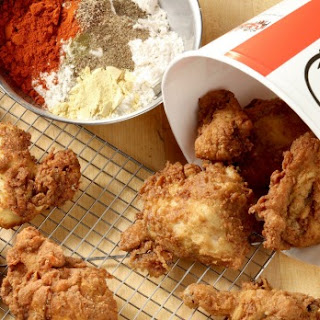 FRIED CHICKEN WITH 11 HERBS AND SPICES