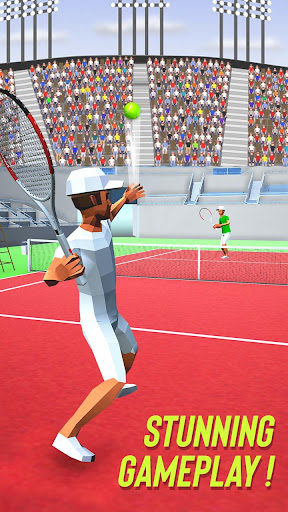 Tennis Fever 3D: Free Sports Games 2020 android2mod screenshots 3