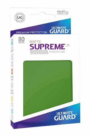 Ultimate Guard - Gröna Matta plastfickor 80st