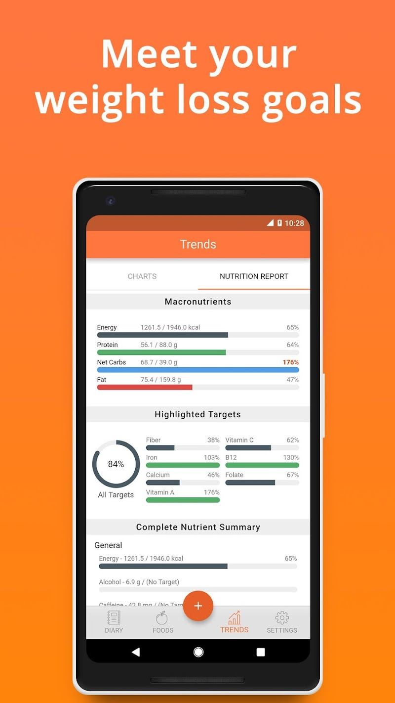 Cronometer – Nutrition Tracker (ad free) Screenshot 3