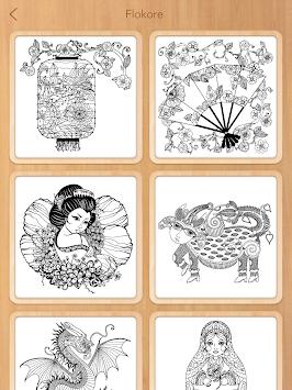 Colorfit Coloring Book Apk Screenshot