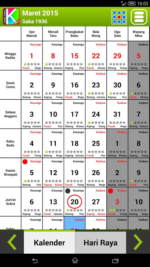 kalender bali android apps on google play. Black Bedroom Furniture Sets. Home Design Ideas