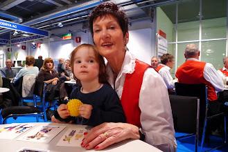 Photo: Lotti Schaffner mit Salome von Dettwilers.