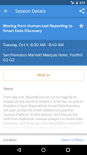 Salesforce Events- screenshot thumbnail