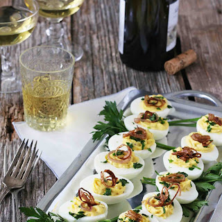 Crispy Shallot Deviled Eggs Recipe