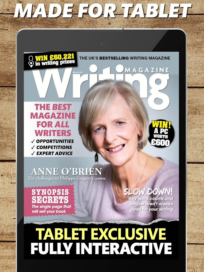 Writing Magazine- screenshot