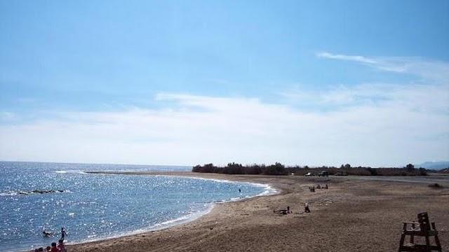 Playa de Villaricos.