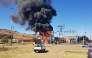 A fire at a substation in Eikenhof left parts of Johannesburg without water and electricity.