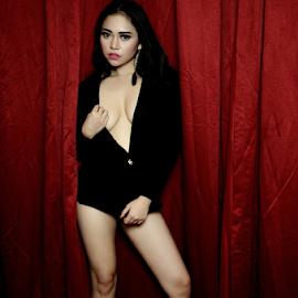 sexy by Renie A. Priyanto - Nudes & Boudoir Artistic Nude ( #lingerie #blacklingerie #woman #sexy #beauty )