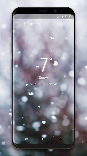 Real Time Weather Live Wallpaper screenshot 4