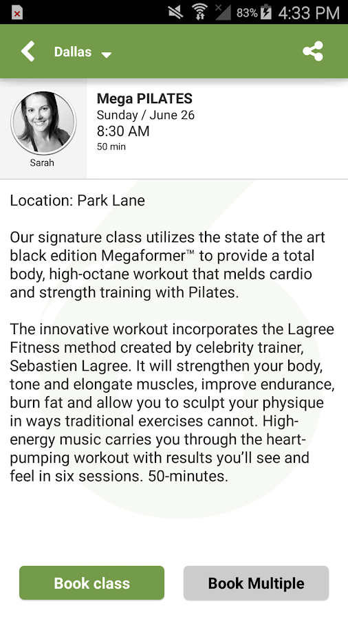 Studio 6 Fitness: Mega Pilates- screenshot