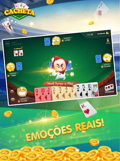 Cacheta - Pife - Pif Paf - ZingPlay Jogo online filehippodl screenshot 8