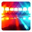 Police siren ambulance sound icon