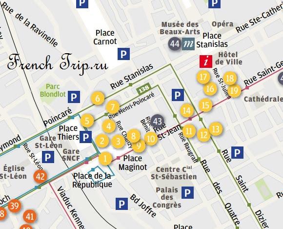 Маршрут по Нанси: Ар-Нуво в центре бизнес-квартала