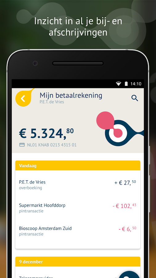 Knab Bankieren- screenshot