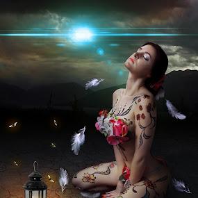 FEEL THE LIGHT by EUGENE CAASI - Digital Art People