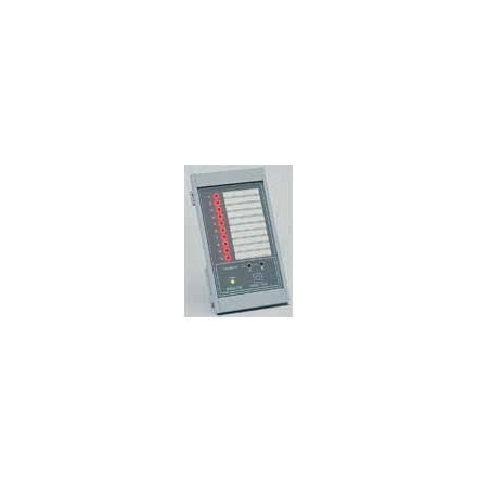 Larmpanel master, 12V DC, A-B larm, panelmontage, minnes-blinkfunktion