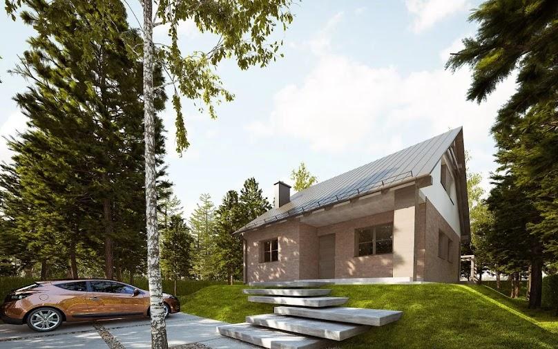 Projekt domu Patrycja