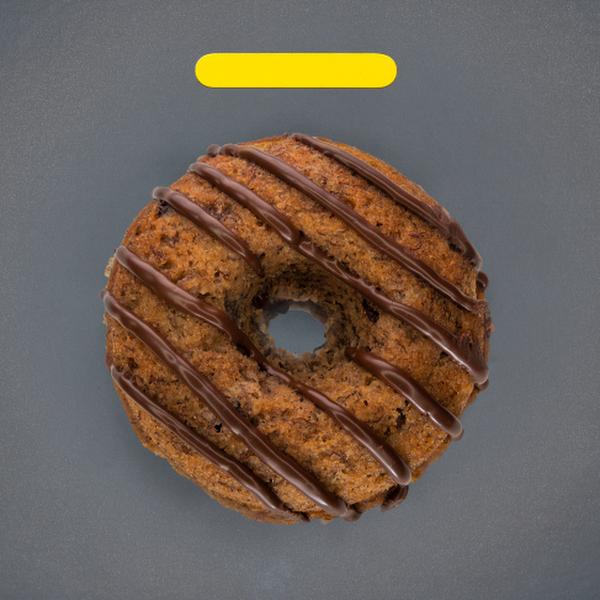 banana chocolate fonut