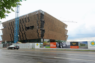 Photo: The National Museum of African American History & Culture under construction (scheduled to be completed in 2016)