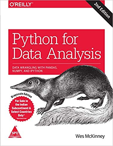 Python for Data Analysis: Data Wrangling with Pandas, NumPy, and IPython book cover