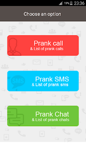 Prank Call & Prank SMS- screenshot thumbnail