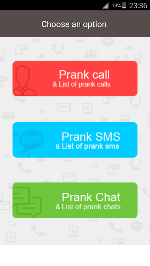 Prank Call & Prank SMS- screenshot