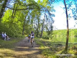 Photo: Promenade de Samois- E-guide balade circuit à vélo sur les Bords de Seine à Bois le Roi par veloiledefrance.com.