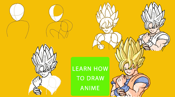 Draw Dragon Ball Z Hero - náhled