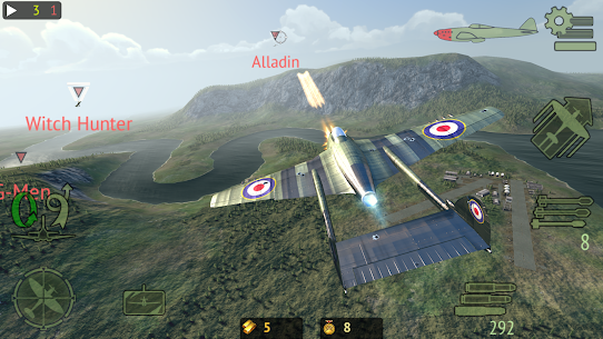Warplanes: Online Combat MOD (Unlimited Gold/Purchase) 3