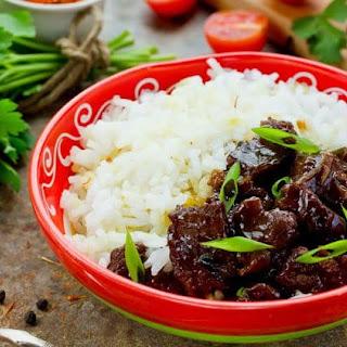 Copycat P.F. Chang's Mongolian Beef.