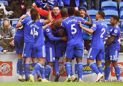 Cardiff City s'offre son deuxième succès de la saison dans les arrêts de jeu face à trois Belgicains