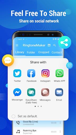 Ringtone Maker - Mp3 Editor & Music Cutter 2.3.6 screenshots 2