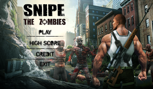 Zombie Sniper Shooter 3D - náhled