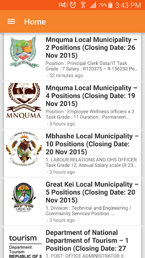 South Africa Government Jobs