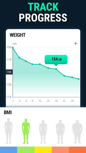 Lose Weight App for Men - Weight Loss in 30 Days screenshot 4