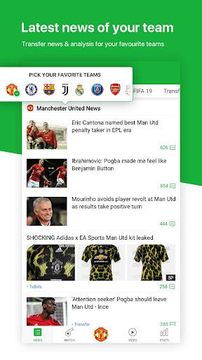 All Football - Latest News & Live Scores 3.1.3 screenshots 1