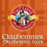 Logo of Highland Clawhammer Oktoberfest