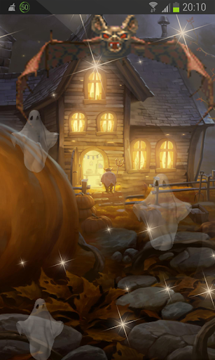 Halloween Turnip 3D HD LWP