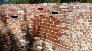 Photo: A wall at the ACT Bushfires memorial at Stromlo Forest Park
