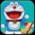 Draw Doraemon step by step icon