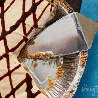 Skinny No-Bake Peanut Butter Pie.