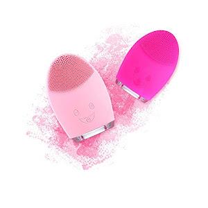 Aparat curatare faciala, waterproof, intensitate vibratii reglabila, USB