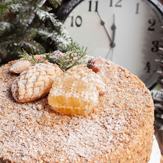 New Year's Honey Cake (Medovik)
