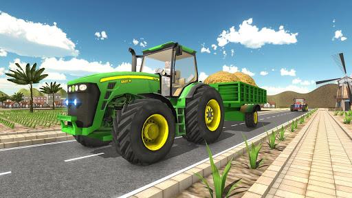 Tractor Cargo Transport: Farming Simulator apkpoly screenshots 6