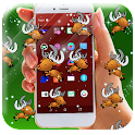 Reindeer In Phone icon
